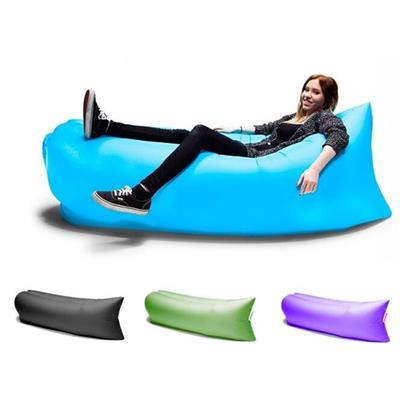 lazy inflatable bed